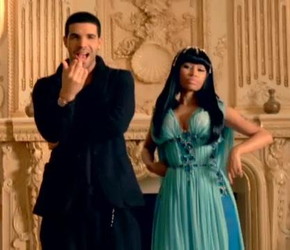 Nicki Minajlife on Nicki Minaj Feat Drake Moment 4 Life Music Video 4 Square