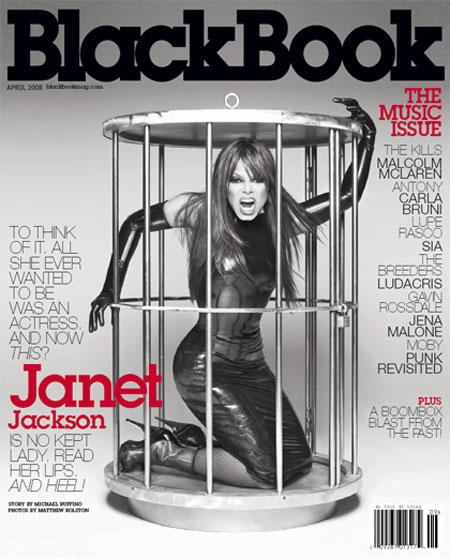 Janet - Black Book Magazine Cover